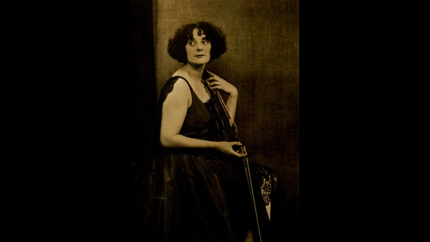 Photograph, May Harrison, violinist